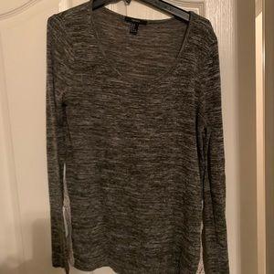 Oversized Gray soft F21 sweater